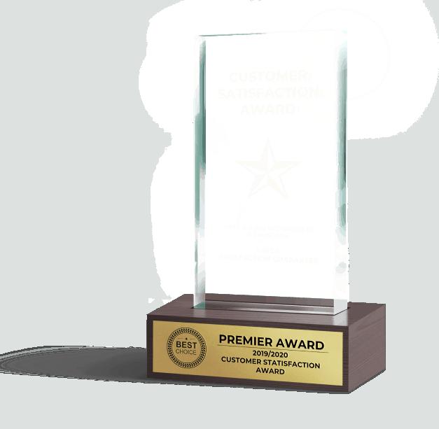 Gager - Customer Satisfaction Award - Eliminate All Odors